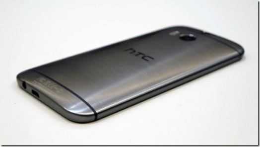 The HTC One M8 is curved